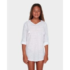 Billabong Sol Beach Coverup White. Billabong Overswims found in Girls Overswims & Girls Tops. Code: 5571151