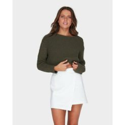 Billabong Breezeway Knit Crew Olive Branch. Billabong Knitwears found in Womens Knitwears & Womens Jackets, Jumpers & Knits. Code: 6595796