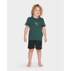 Billabong Groms Terrace Tee Dark Forest. Billabong Tees found in Toddlers Tees & Toddlers T-shirts & Singlets. Code: 7595002