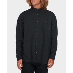 Billabong Linen Long Sleeve Shirt Black. Billabong Shirts - Long Sleeve found in Mens Shirts - Long Sleeve & Mens Shirts. Code: 9595217