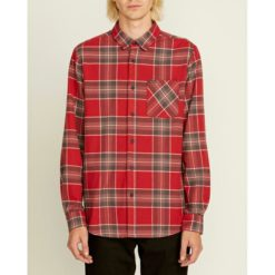 Volcom Caden Plaid L/s Burgundy. Volcom Shirts - Long Sleeve found in Mens Shirts - Long Sleeve & Mens Tops. Code: A0511905