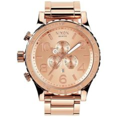 Nixon 51-30 Chronograph All Rose Gold All Rose Gold. Nixon Watches found in Mens Watches & Mens Watches. Code: A083897