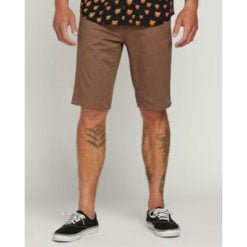 Volcom Solver Lite 5 Pocket Shor Mushroom. Volcom Walkshorts - Fitted Waist found in Mens Walkshorts - Fitted Waist & Mens Shorts. Code: A0911708