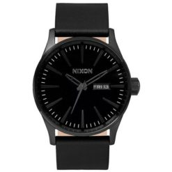 Nixon Sentry Leather All Black Alblk. Nixon Watches found in Mens Watches & Mens Watches. Code: A105001