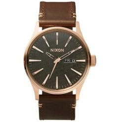Nixon Sentry Lth Rose Gld/gunm Rgld/gun/brn. Nixon Watches found in Mens Watches & Mens Watches. Code: A1052001
