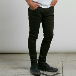 Volcom 2x4 Tapered Black On Black. Volcom Jeans found in Mens Jeans & Mens Bottoms. Code: A1931610