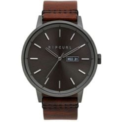 Rip Curl Detroit Gunmetal Leather 0036. Rip Curl Watches found in Mens Watches & Mens Watches. Code: A3084