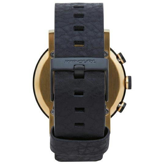 Rip Curl Beacon Chronograph Gold Leather Gold. Rip Curl Watches found in Mens Watches & Mens Watches. Code: A3195