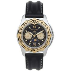 Rip Curl Moonphase Heat Bezel Leather Black. Rip Curl Watches found in Mens Watches & Mens Watches. Code: A3201