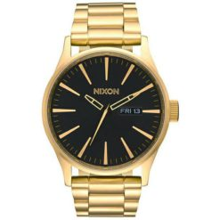 Nixon Sentry Stainless Steel All Gold Black All Gold / Black. Nixon Watches found in Mens Watches & Mens Watches. Code: A356510