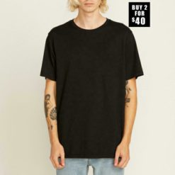 Volcom Solid Short Sleeve Tee Black. Volcom Tees found in Mens Tees & Mens T-shirts & Singlets. Code: A5011530