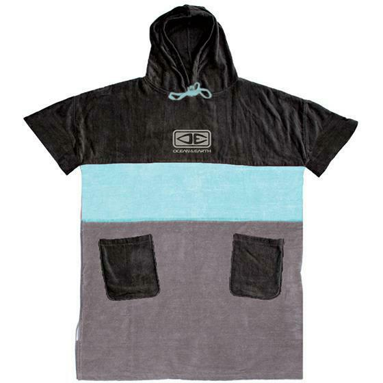 Ocean And Earth Mens Strike Hooded Poncho Ice Blue. Ocean And Earth Towels - Hooded found in Mens Towels - Hooded & Mens Accessories. Code: AMTW16