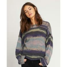 Volcom Daze Go By Sweater Multi. Volcom Knitwears in Womens Knitwears & Womens Jackets, Jumpers & Knits. Code: B0711901