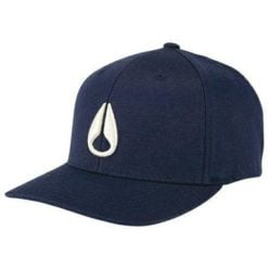 Nixon Deep Down Flexfit Athletic Fit All Navy / Cream. Nixon Hats & Caps found in Mens Hats & Caps & Mens Headwear. Code: C10752849