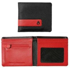 Nixon Showdown Bifold Wallet Black/red. Nixon Wallets found in Mens Wallets & Mens Accessories. Code: C943008