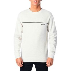 Rip Curl Pipe Crew Light Grey Marle. Rip Curl Sweats found in Mens Sweats & Mens Jackets, Jumpers & Knits. Code: CFEOH1