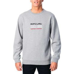 Rip Curl Pill Crew Grey Marle. Rip Curl Sweats found in Mens Sweats & Mens Jackets, Jumpers & Knits. Code: CFEOJ1