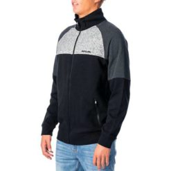 Rip Curl Pill Panel Zip Through Crew Black. Rip Curl Sweats found in Mens Sweats & Mens Jackets, Jumpers & Knits. Code: CFEOT1