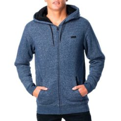 Rip Curl Core Lined Zip Through Hood Navy Marle. Rip Curl Hoodies found in Mens Hoodies & Mens Jackets, Jumpers & Knits. Code: CFEOU1
