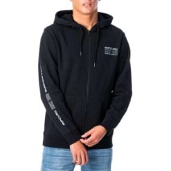 Rip Curl Pill Sleeve Zip Through Hood Black. Rip Curl Hoodies found in Mens Hoodies & Mens Jackets, Jumpers & Knits. Code: CFEOZ1