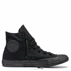 Converse Chuck Taylor Canvas Hi All Black. Converse Shoes in Mens Shoes & Mens Footwear. Code: CHUCKHI
