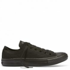 Converse Chuck Taylor Canvas Lo All Black. Converse Shoes in Mens Shoes & Mens Footwear. Code: CHUCKLO