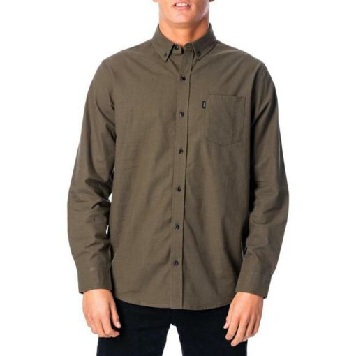 Rip Curl All Day L/s Shirt Dark Olive. Rip Curl Shirts - Long Sleeve found in Mens Shirts - Long Sleeve & Mens Shirts. Code: CSHJT1