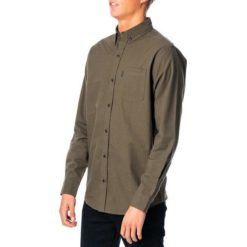 Rip Curl All Day L/s Shirt Dark Olive. Rip Curl Shirts - Long Sleeve found in Mens Shirts - Long Sleeve & Mens Tops. Code: CSHJT1