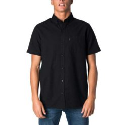 Rip Curl All Night Short Sleeve Shirt Black. Rip Curl Shirts - Short Sleeve found in Mens Shirts - Short Sleeve & Mens Shirts. Code: CSHKK1