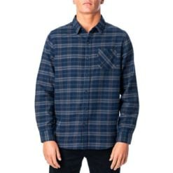 Rip Curl Check Out L/s Shirt Navy. Rip Curl Shirts - Long Sleeve found in Mens Shirts - Long Sleeve & Mens Shirts. Code: CSHLO1