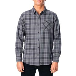 Rip Curl Check Out L/s Shirt Washed Black. Rip Curl Shirts - Long Sleeve found in Mens Shirts - Long Sleeve & Mens Shirts. Code: CSHLO1