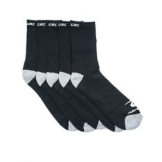 Rip Curl Rip Curl Crew Sock-5pack Black. Rip Curl Socks, Underwear, Pyjamas found in Mens Socks, Underwear, Pyjamas & Mens Footwear. Code: CSODA1