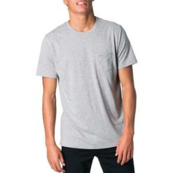 Rip Curl Plain Pocket Tee Grey Marle. Rip Curl Tees found in Mens Tees & Mens T-shirts & Singlets. Code: CTECV2