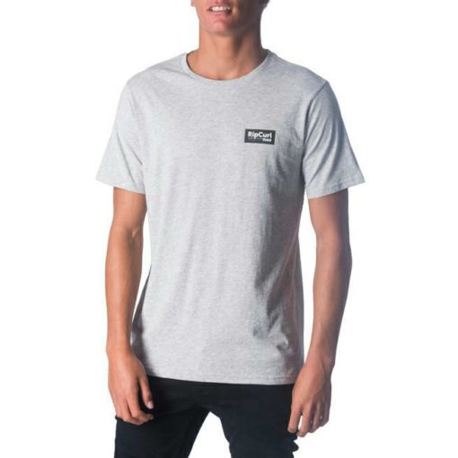 Rip Curl Stacked Tee Grey Marle. Rip Curl Tees found in Mens Tees & Mens T-shirts & Singlets. Code: CTEML2