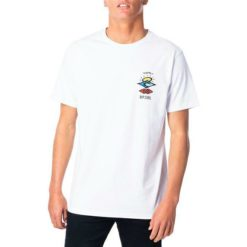 Rip Curl Search Logo Tee White/blue. Rip Curl Tees found in Mens Tees & Mens T-shirts & Singlets. Code: CTEPV2
