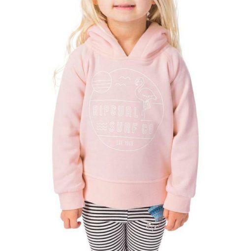 Rip Curl Mini Flamingo Cove Hoody Light Pink. Rip Curl Hoodies found in Toddlers Hoodies & Toddlers Tops. Code: FFEAR1