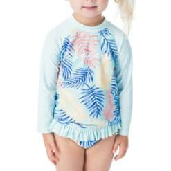 Rip Curl Mini Coco Sands Rash Set Aqua. Rip Curl Swimwear - Separates found in Toddlers Swimwear - Separates & Toddlers Swimwear. Code: FSIBX1