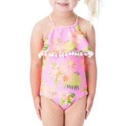 Rip Curl Mini Electricpalms 1piece Pink. Rip Curl Swimwear - One Piece found in Toddlers Swimwear - One Piece & Toddlers Swimwear. Code: FSIBZ1