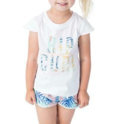 Rip Curl Mini Coco Sands Tee White. Rip Curl Tees found in Toddlers Tees & Toddlers T-shirts & Singlets. Code: FTEBR1