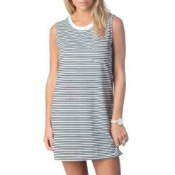 Rip Curl Plains Tank Dress Black/white. Rip Curl Dresses found in Womens Dresses & Womens Skirts, Dresses & Jumpsuits. Code: GDRFQ1