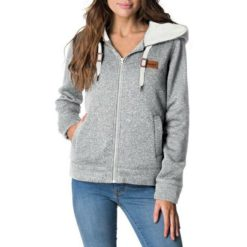 Rip Curl Full Moon Zip Through Hoody Light Grey Heather. Rip Curl Hoodies found in Womens Hoodies & Womens Jackets, Jumpers & Knits. Code: GFEGL1