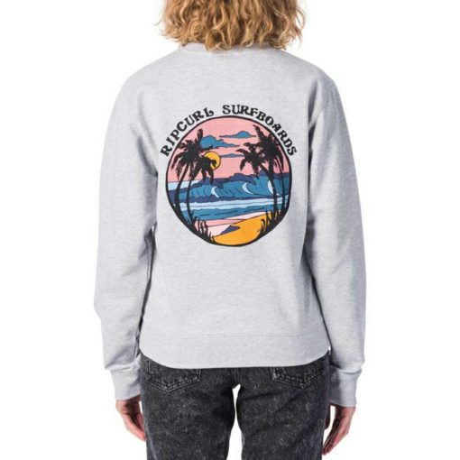 Rip Curl Day Breaker Crew Light Grey Heather. Rip Curl Sweats found in Womens Sweats & Womens Jackets, Jumpers & Knits. Code: GFEIE1