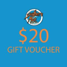 Southern Man $20 Gift Voucher . Southern Man Gift Vouchers in Generic Gift Vouchers & Generic Vouchers. Code: GIFTV20