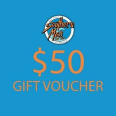 Southern Man $50 Gift Voucher . Southern Man Gift Vouchers in Generic Gift Vouchers & Generic Vouchers. Code: GIFTV50