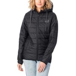 Rip Curl The Search Puffer Jacket Black. Rip Curl Jackets found in Womens Jackets & Womens Jackets, Jumpers & Knits. Code: GJKCL1