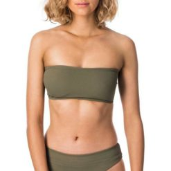 Rip Curl Premium Surf Essentials Bandeau Olive. Rip Curl Swimwear - Separates found in Womens Swimwear - Separates & Womens Swimwear. Code: GSIAO2