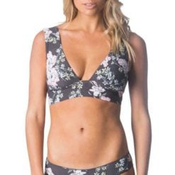 Rip Curl Nalu Deep V Tri Dark Grey. Rip Curl Swimwear - Separates found in Womens Swimwear - Separates & Womens Swimwear. Code: GSIXZ1