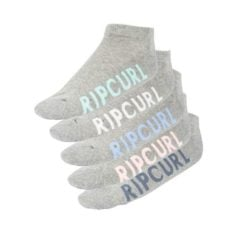 Rip Curl Essentials Sock-5 Pack Light Grey Heather. Rip Curl Socks, Underwear, Pyjamas found in Womens Socks, Underwear, Pyjamas & Womens Footwear. Code: GSOBC1