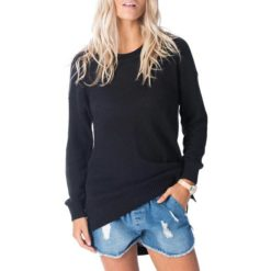Rip Curl Wanderer Crew Black. Rip Curl Sweats found in Womens Sweats & Womens Jackets, Jumpers & Knits. Code: GSWEL1