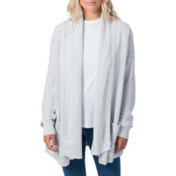 Rip Curl Wanderer Cardi Light Grey Heather. Rip Curl Knitwears found in Womens Knitwears & Womens Jackets, Jumpers & Knits. Code: GSWGS1